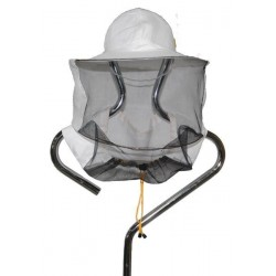 Beekeeping hat with net back