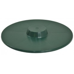 Cover for round feeder