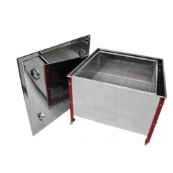 Wax melter for 100 Dadant frames